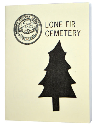 Oregon History Comics 1: Lone Fir Cemetery