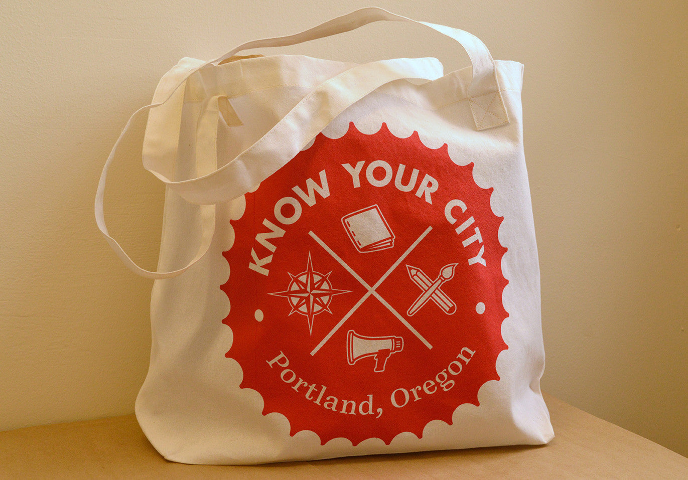 Know Your City tote bag