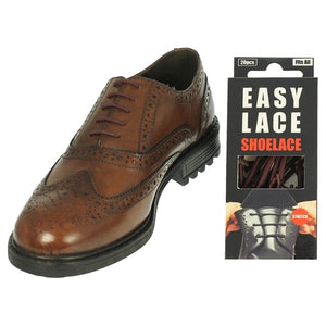 Easy Lace Silicone Round Laces - BROWN