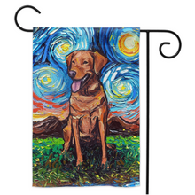 Load image into Gallery viewer, Labrador Night, Fox Red, Yard Flags