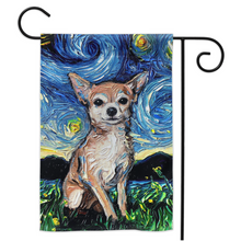 Load image into Gallery viewer, Chihuahua Night, Tan, Yard Flags