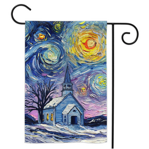 O Holy Night Yard Flags