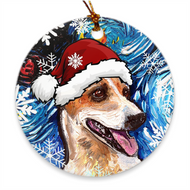 Jack Russell Terrier Night 4 Ornament