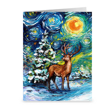 Load image into Gallery viewer, Silent Night Christmas Greeting Card