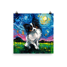 Load image into Gallery viewer, Papillon Night Matte Poster Print