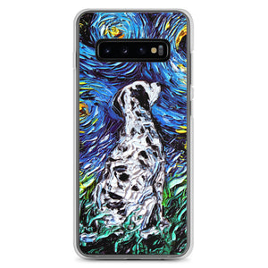 Dalmatian Night Samsung Case