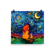 Load image into Gallery viewer, Van Gogh Never Saw The Sahara Matte Poster Print