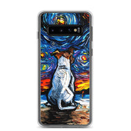 Jack Russell Terrier Night 2 Samsung Case