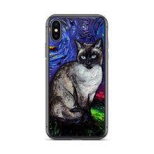 Load image into Gallery viewer, Siamese Night iPhone Case