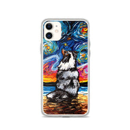 Shetland Sheepdog Night, Merle, iPhone Case