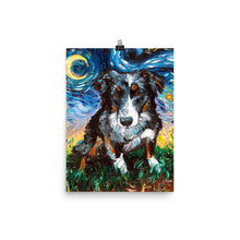 Load image into Gallery viewer, Australian Shepherd, Matte Poster Print