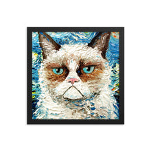 Load image into Gallery viewer, Vincent van No, Framed poster print