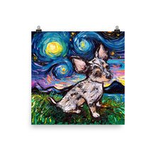 Load image into Gallery viewer, Merle Teacup Chihuahua Matte Poster Print