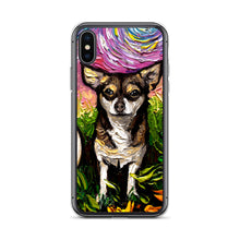 Load image into Gallery viewer, Chihuahua Night, Brown and Tan iPhone Case