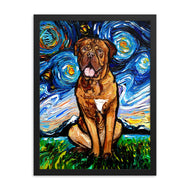 Dogue De Bordeaux Framed Print