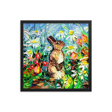 Load image into Gallery viewer, Cottontail Framed Print