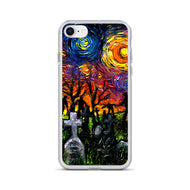 Starry Night of the Living Dead iPhone Case