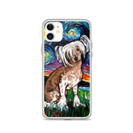 Chinese Crested Night iPhone Case