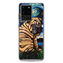 Load image into Gallery viewer, Shar Pei Night Samsung Case