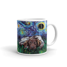 Load image into Gallery viewer, German Pointer Munsterlander Night Coffee Mug