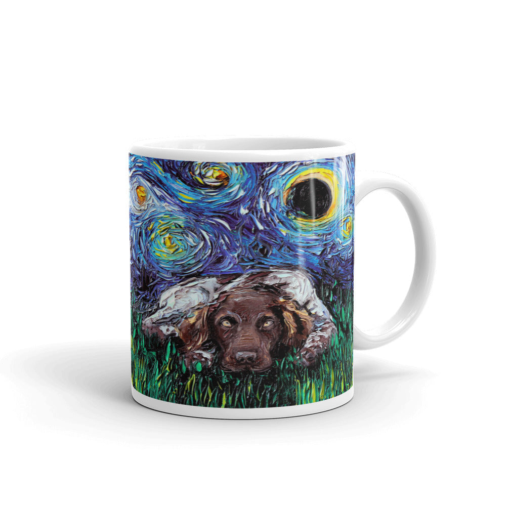 German Pointer Munsterlander Night Coffee Mug