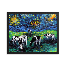Load image into Gallery viewer, Starry Starry Pasture Framed Print