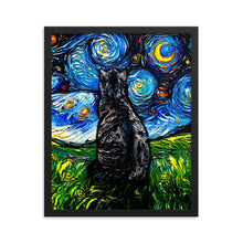 Load image into Gallery viewer, Tabby Night Framed Photo Paper Poster