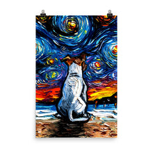 Load image into Gallery viewer, Jack Russel Terrier, Matte Poster Print