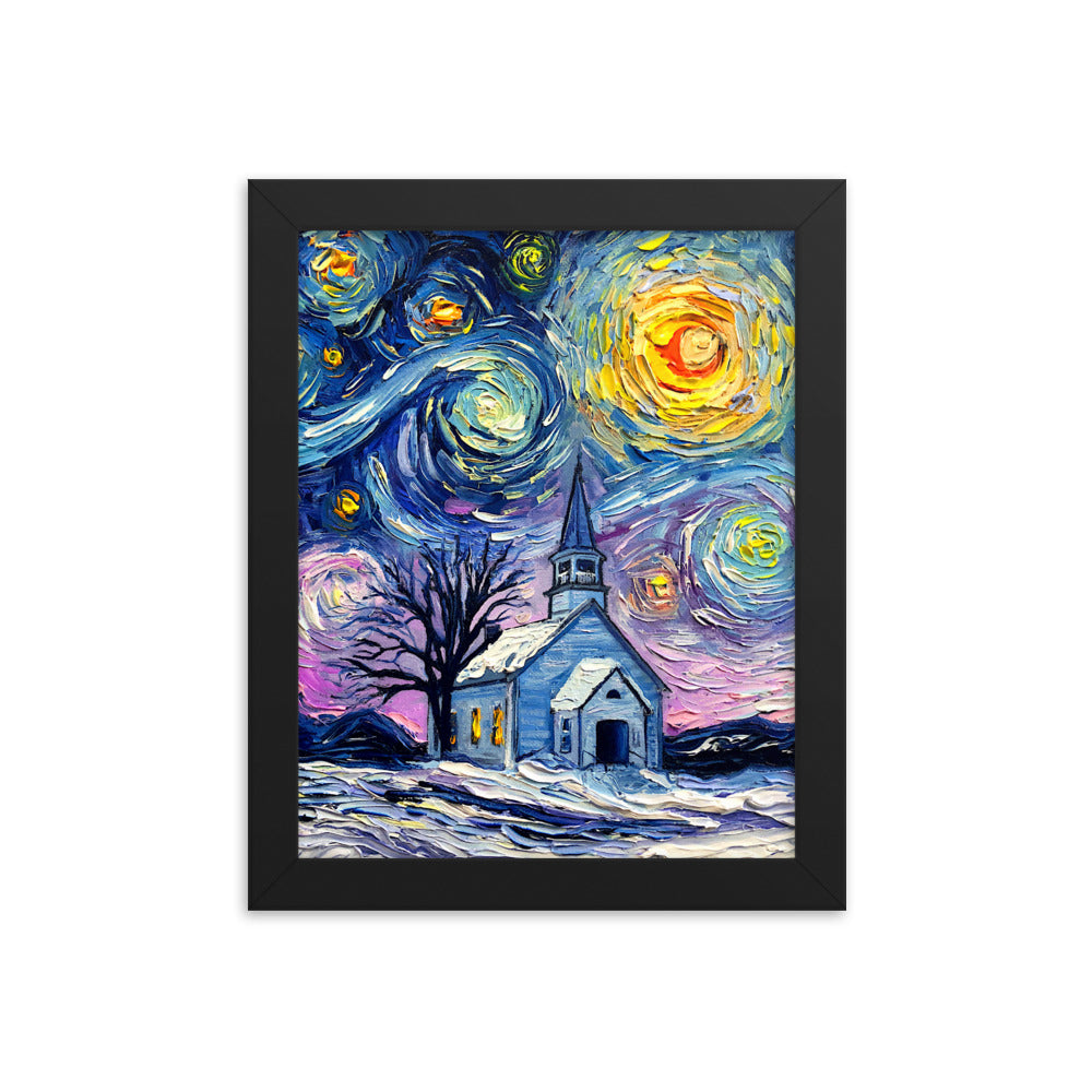 O Holy Night Framed Print
