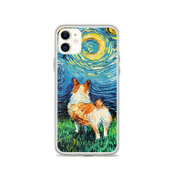 Corgi Night iPhone Case