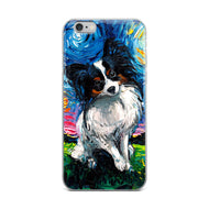 Papillon Night iPhone Case