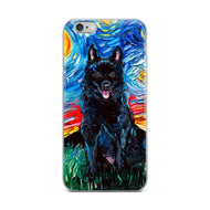 Schipperke Night iPhone Case