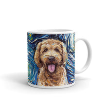 Load image into Gallery viewer, Goldendoodle Night Coffee Mug