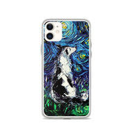 Border Collie Night iPhone Case