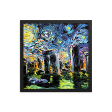 Load image into Gallery viewer, van Gogh Never Saw Stonehenge Framed Print