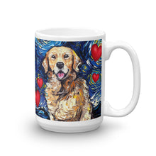 Load image into Gallery viewer, Golden Retriever Valentine Coffee Mug