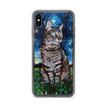Load image into Gallery viewer, Tabby Night iPhone Case