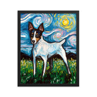 Toy Fox Terrier Framed Print