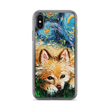 Load image into Gallery viewer, Pomeranian Night iPhone Case