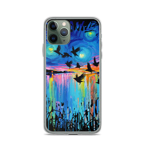 Murder of Crows iPhone Case