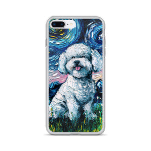 Bichon Frise Night iPhone Case