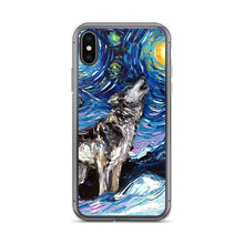 Load image into Gallery viewer, Lupine Night iPhone Case