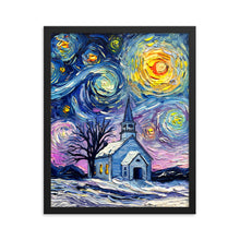 Load image into Gallery viewer, O Holy Night Framed Print