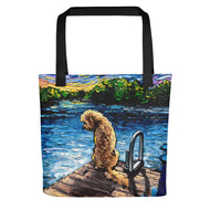 Goldendoodle Night 3 Tote