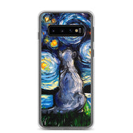 Russian Blue Night Samsung Case