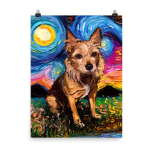 Load image into Gallery viewer, Australian Terrier Matte Poster Print