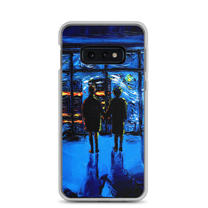van Gogh Never Watched The World Burn Samsung Case