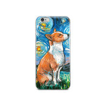 Load image into Gallery viewer, Basenji Night iPhone Case