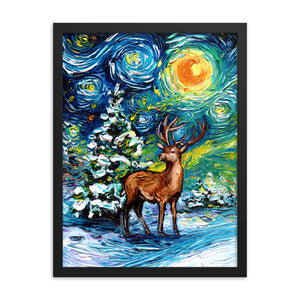 Silent Night Framed Print