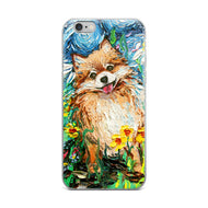 Pomeranian - Happy iPhone Case